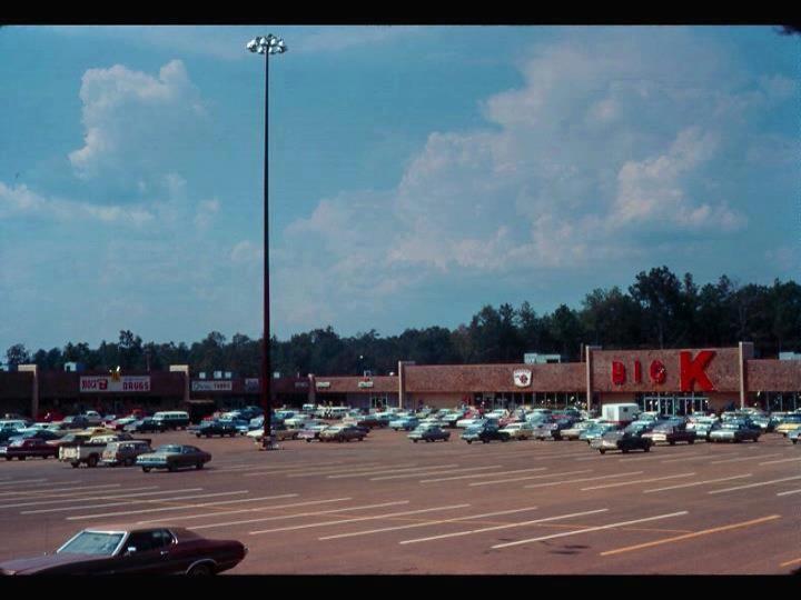 Big K Store At Jasper Square Shopping Center Circa 1977 Walker County Hometown Alabama