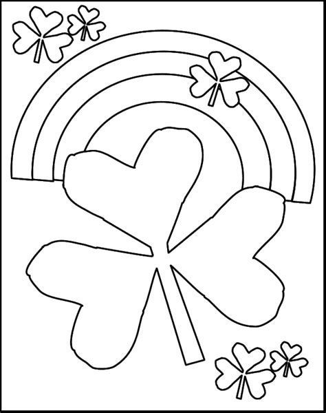 Image result for free st patrick's day coloring pages