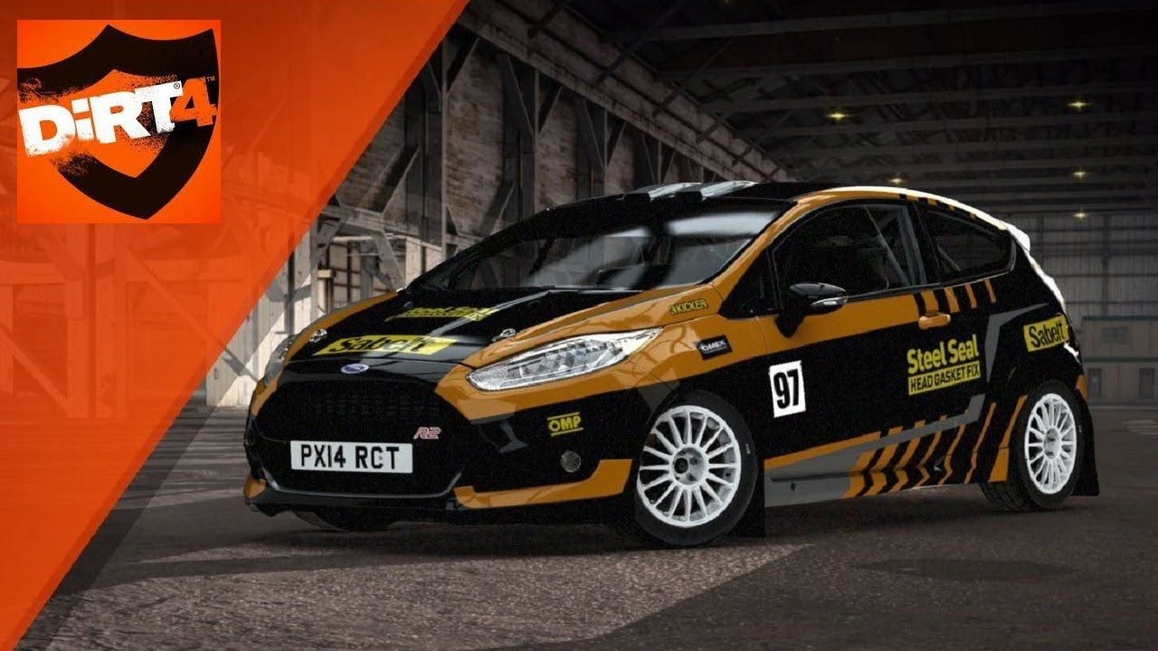 Ford Fiesta R2 Powys Wales Dirt 4 Gameplay