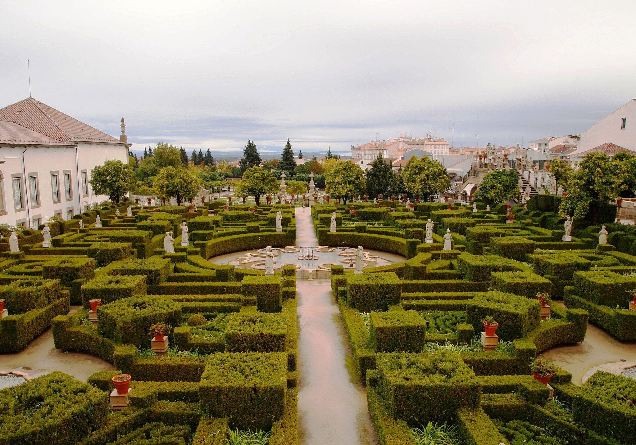 Jardim das Estátuas, Castelo Branco
