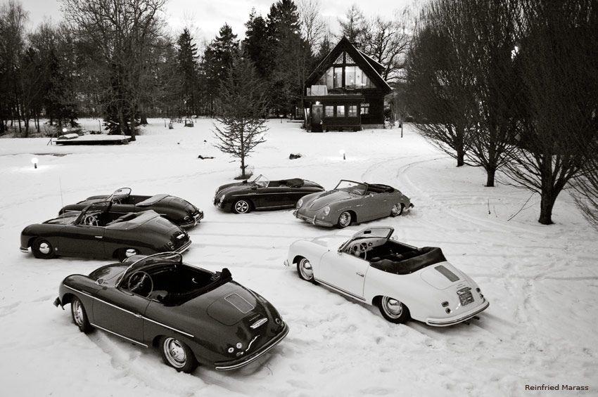 Invigorating Porsche 356 Rides