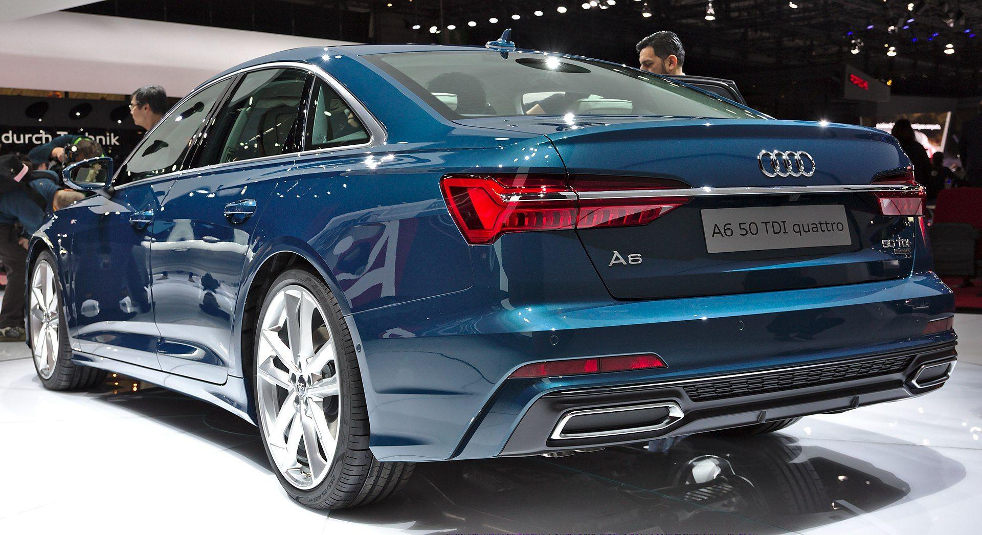 Audi A6 Back I Genf 2018 Audi A6 C8 Wikipedia Cars Audi A6