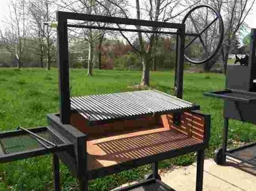 Argentine Grills Are Designed To Allow Close Temperature Control During  Grilling. Argentine Grills Also Channel Fat Away From The Fire To A Drip  Pan ...