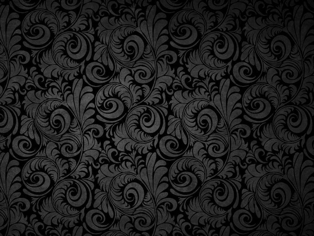 Black Floral Patterns backgrounds Black floral wallpaper