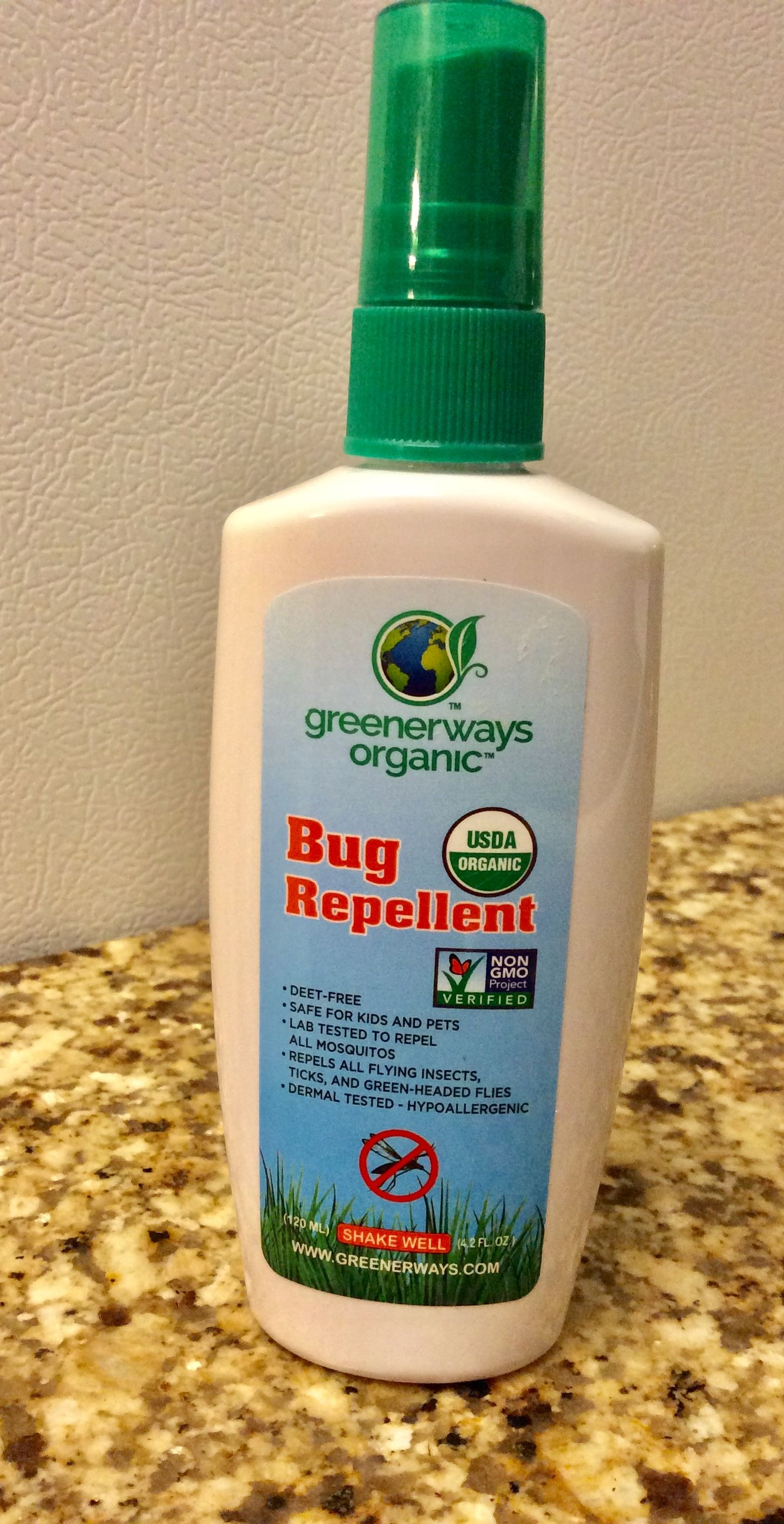 Greenerways Organic Bug Repellent Priscilla De Leon Organic