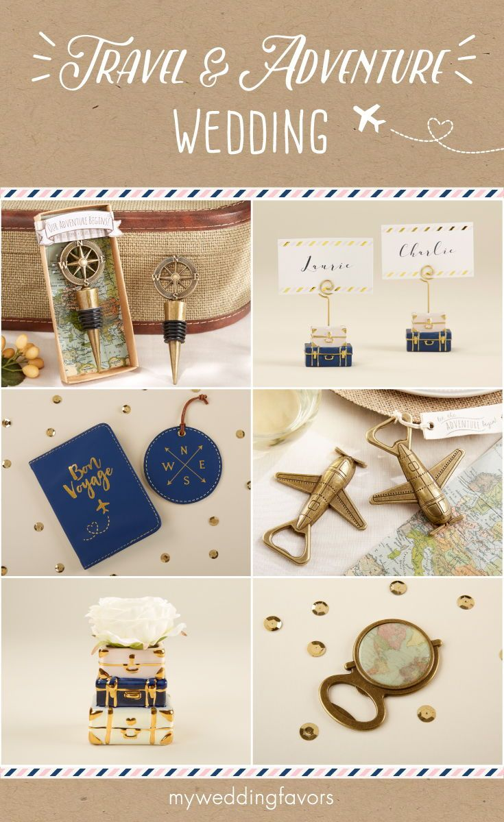 All the little details for your destination wedding or travel-theme ...
