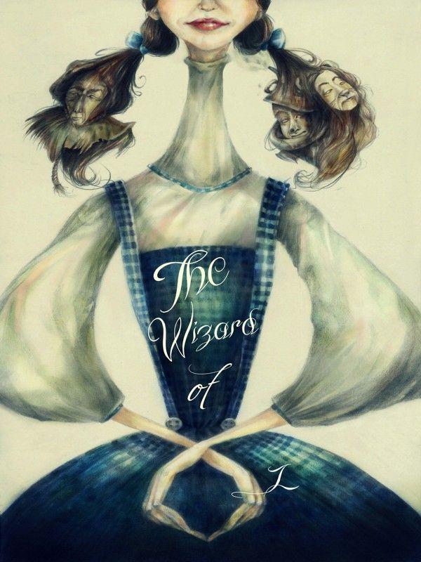 el mago de Oz, ilustración de Foivi Spyridonos