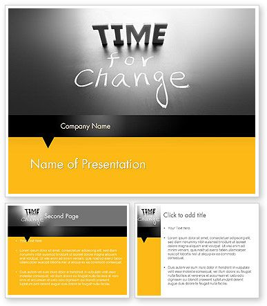 Httppoweredtemplate120630indexml time for a change time for a change powerpoint template toneelgroepblik Images