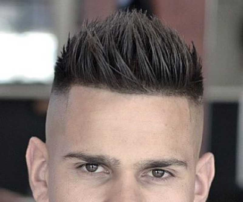 Awesome Spiky Top Fohawk Haircut