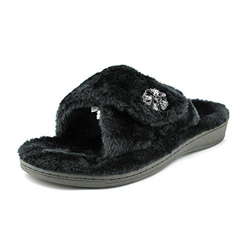 Orthaheel Vionic With Orthaheel Technology Women's Relax Luxe Slipper Black Slipper 11 M * You can get additional details at the image link.