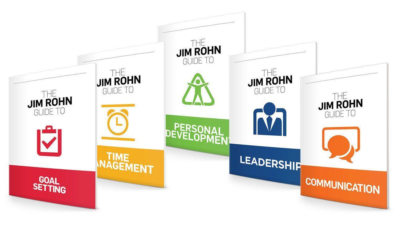 The Jim Rohn Guides Complete Set Jim Rohn Leadership Goals Jim