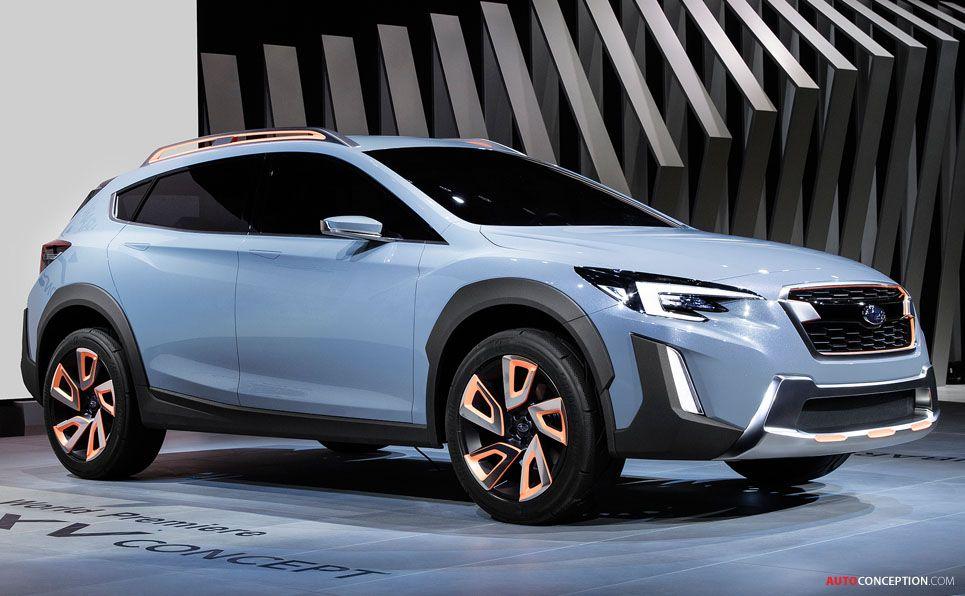 New Subaru Concept Previews Next Generation Xv Crossover Subaru Crosstrek Subaru Concept Cars