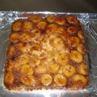Banana Foster Upside Down Cake Recipe