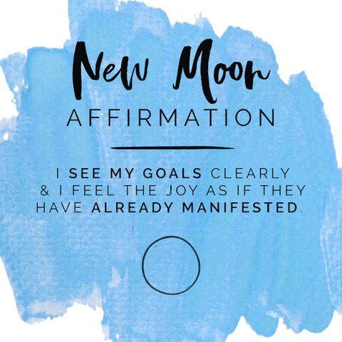 NEW MOON WISHING RITUAL FOR MANIFESTING YOUR BIGGEST, BOLDEST GOALS #newmoonritual