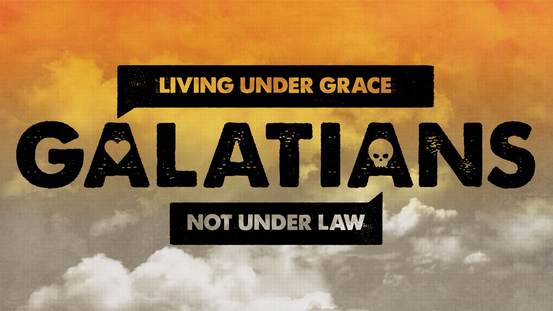 Living by grace not by law