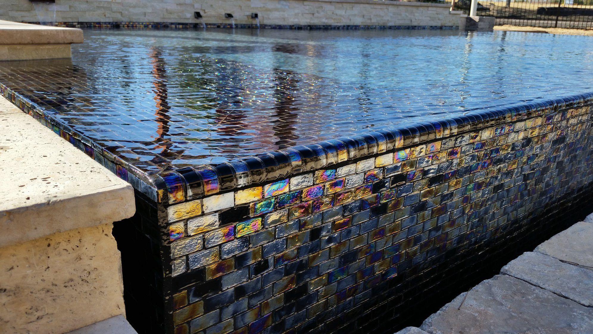 glass pool tile glass mosaic tiles
