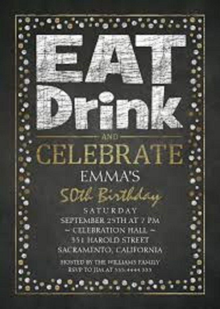 50th birthday party invitations online party ideas birthday