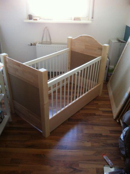 Babybett Bauanleitung zum Selberbauen