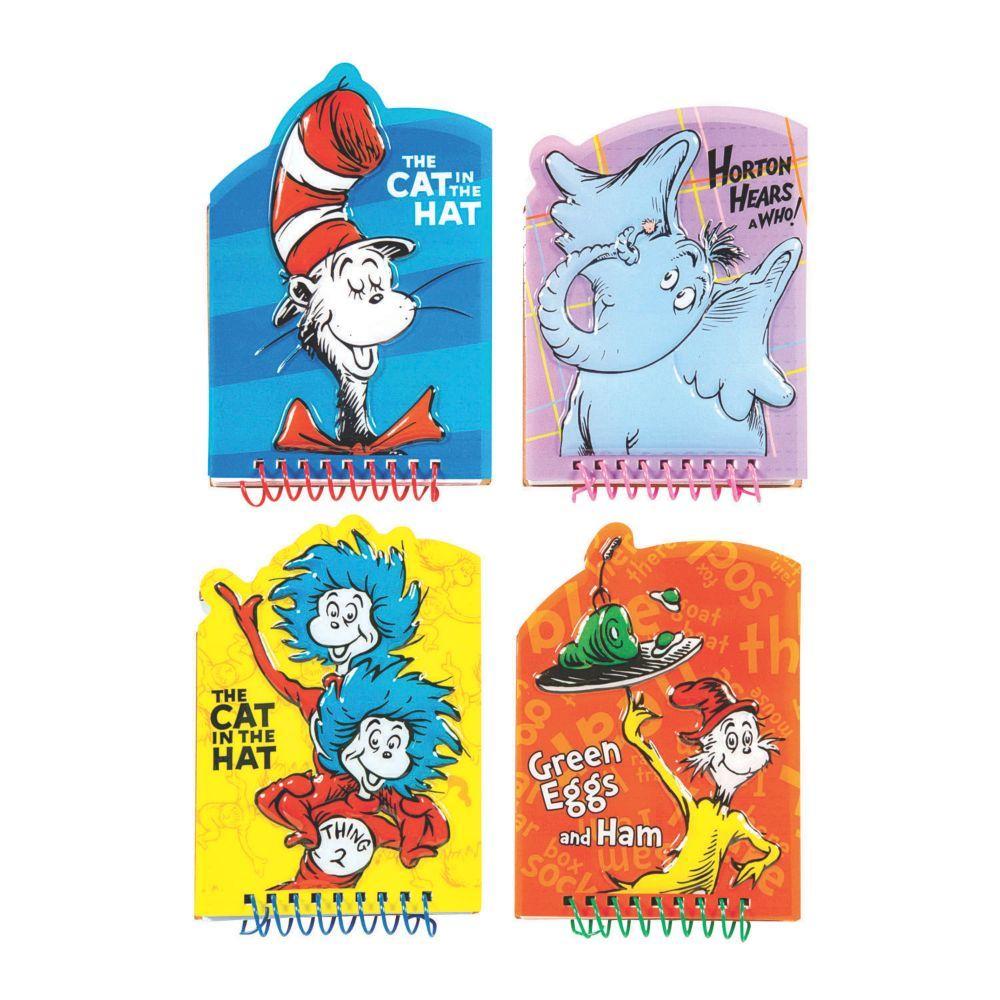 Dr. Seuss™ Character Memo Spiral Notepads
