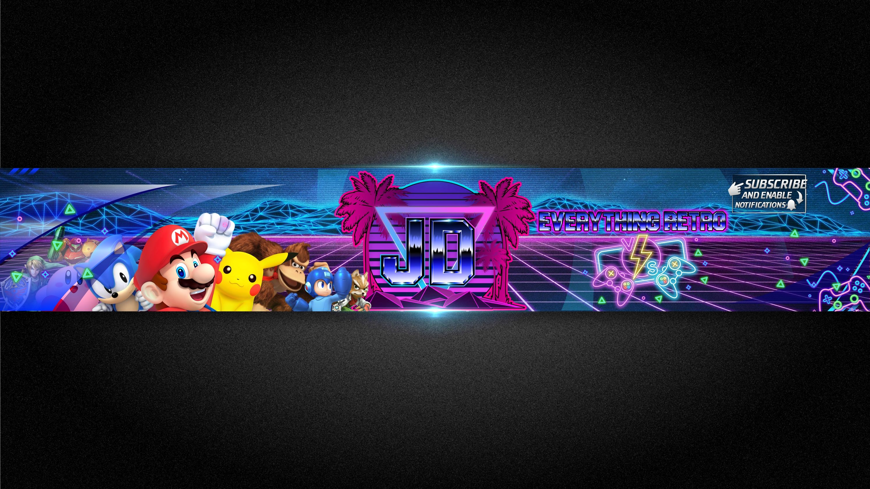 Umar130 I Will Design An Awesome Youtube Logo And Banner For 35 On Fiverr Com Facebook Banner Gaming Banner Banner