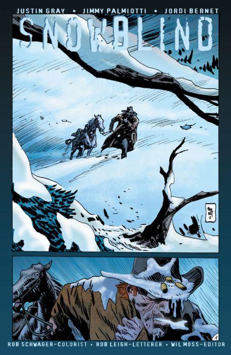 Snowblind. Jonah Hex by Jordi Bernet