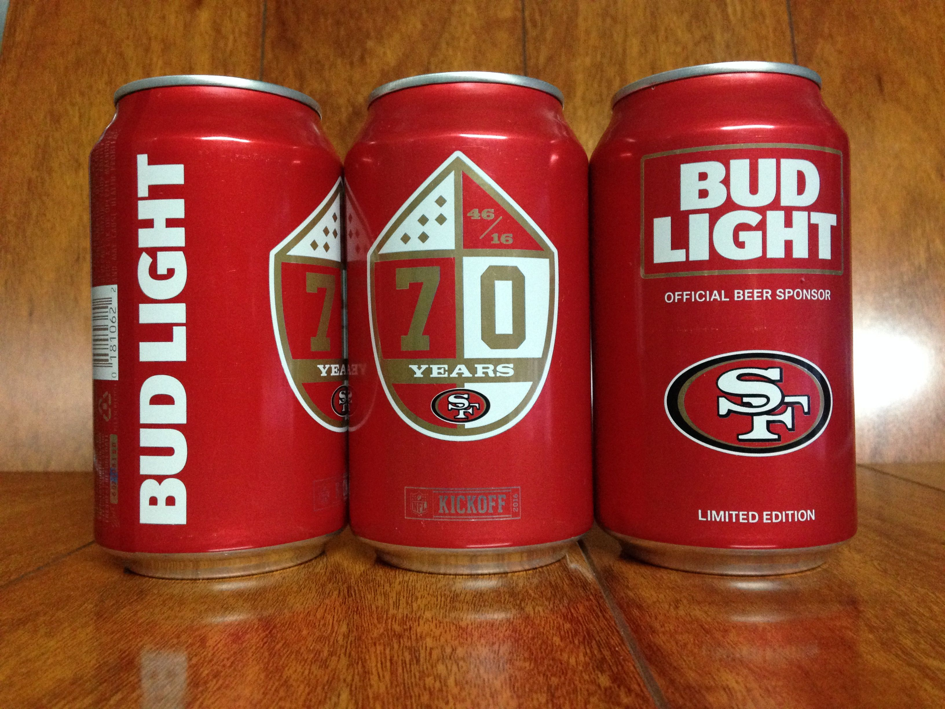2016 Bud Light Kickoff Limited Edition San Francisco 49ers