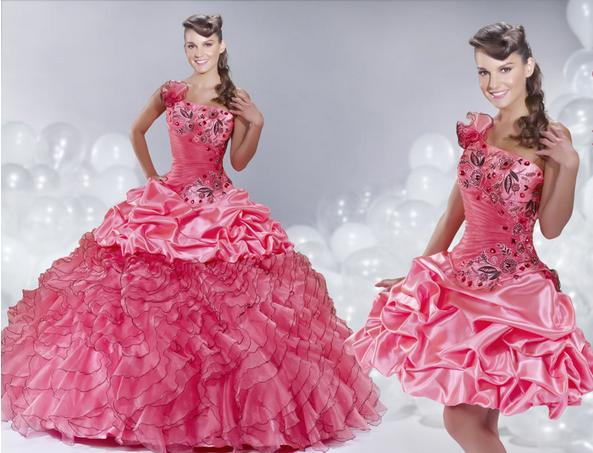 15 Anos Flats: Vestidos De Quince Años Desmontables 2015