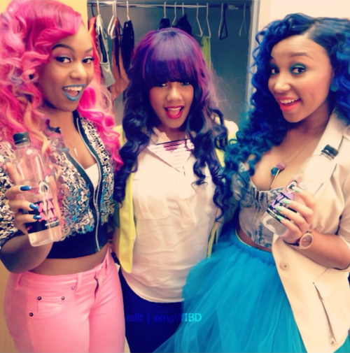 48 Best Zonnique pullins images   Omg girlz, Celebrity ...  Omg Girls Hairstyles
