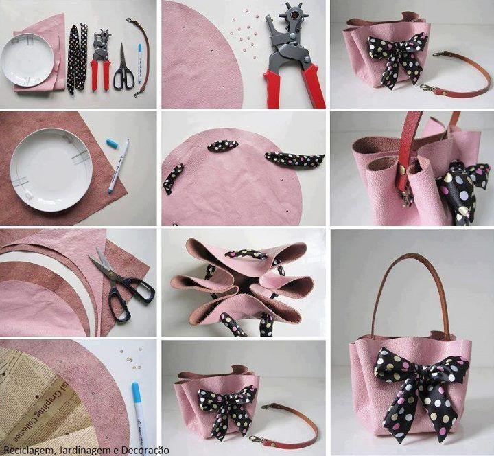 Faça você mesmo: Mini Bag