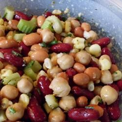 Curried Bean Salad Recipe Recipe Bean Salad Recipes Salad Recipes South Africa Bean Salad
