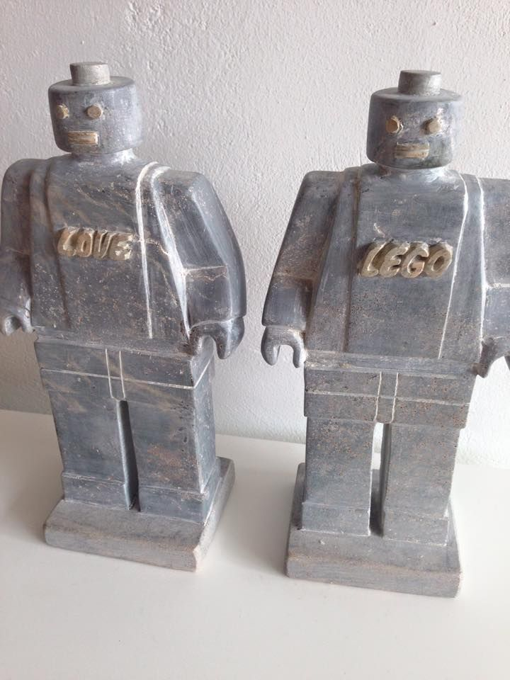What more do you need than these AWESOME Lego men made from pure ...