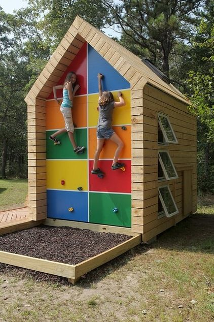 Contemporary Kids By ZeroEnergy Design   I Love This Cubby House!