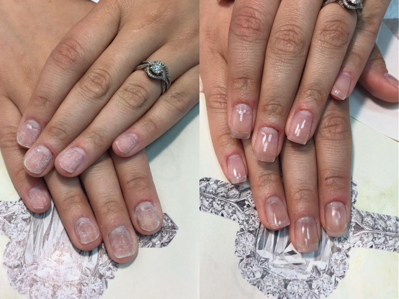 Gel extension, alongamento de gel   Nails!   Pinterest