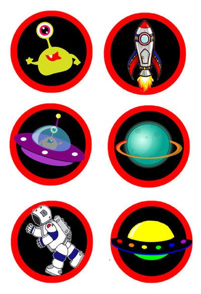 astronaut party printables - HD 800×1168