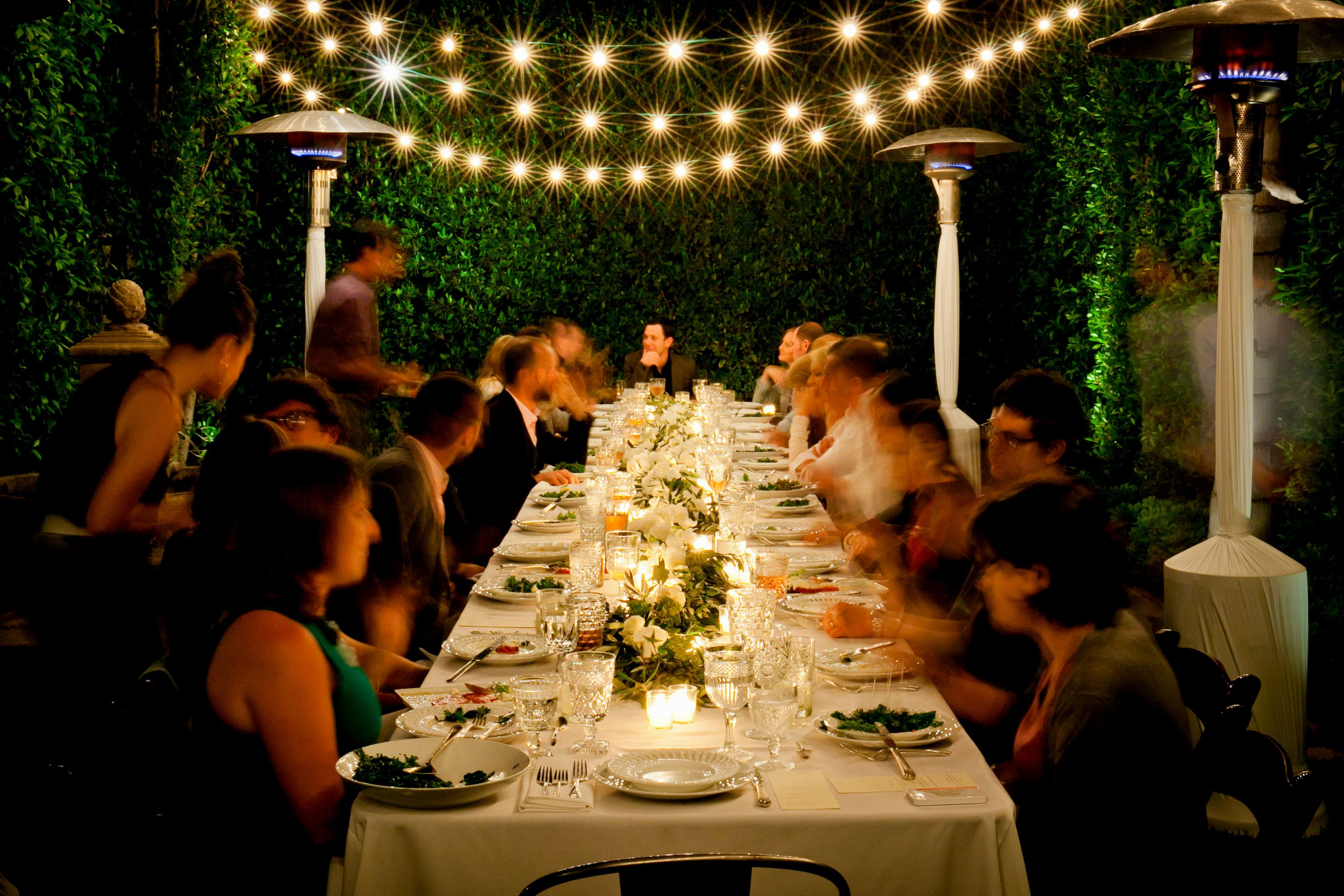 Superior Ideas For Birthday Dinner Party Part - 6: A Great Summer Evening Dinner Party Idea!