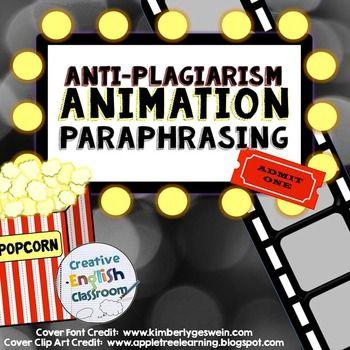 005 Anti Plagiarism Animation Paraphrasing Anti plagiarism