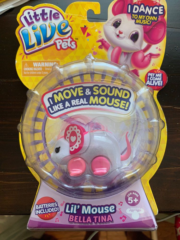Little Live Pets Lil Mouse Dancin Queenie Littlelivepet Little Live Pets Pets Lil