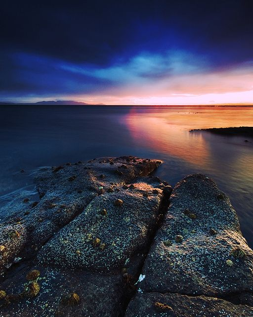 Amazing Places To See Scotland: BLUE SKIES & SUNSETS