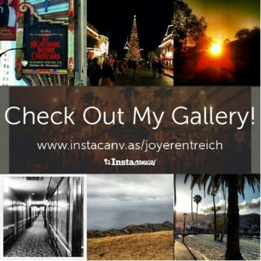 Check out my gallery on Instacanvas!!   Just for fun.