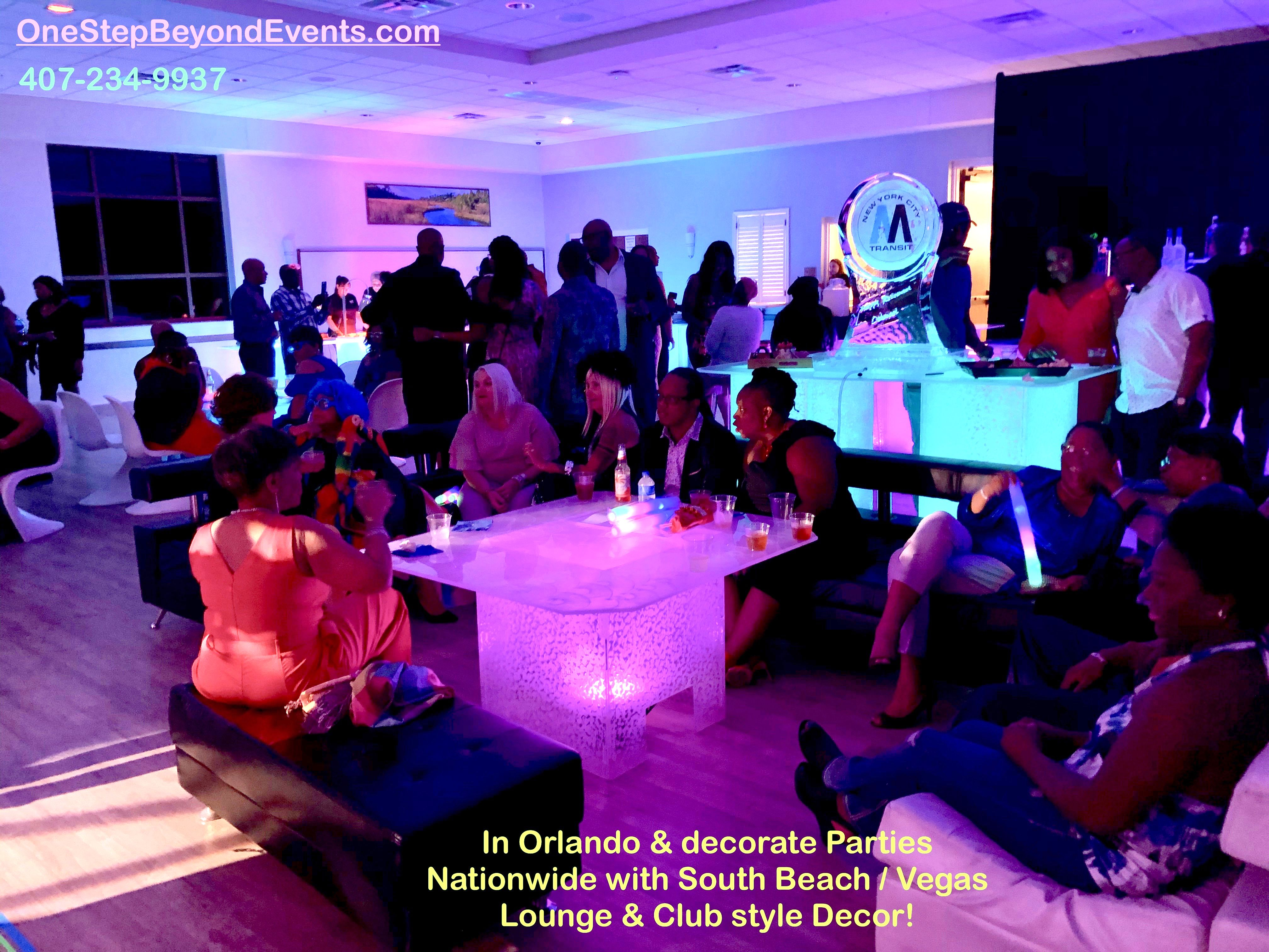 Affordable Party Rentals Glow Table Led Furniture Rentals South Beach Vegas Style Light Up Glow Decor Elegant 4 X4 In 2020 Glow Table Party Rentals Event Rental