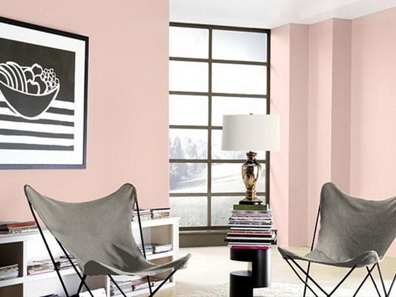 Soft Pink Colors of Paint for Walls | paint | Pinterest | House ...