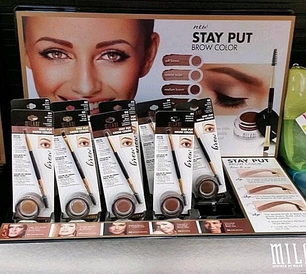 Spotted New Milani Stay Put Brow Color Brow Gels Weekly