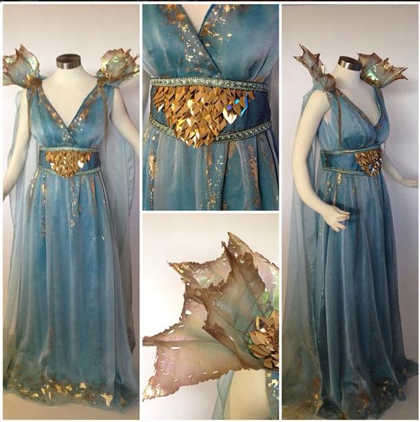 Daenerys Targaryen Costume by glimmerwood.deviantart.com on @deviantART