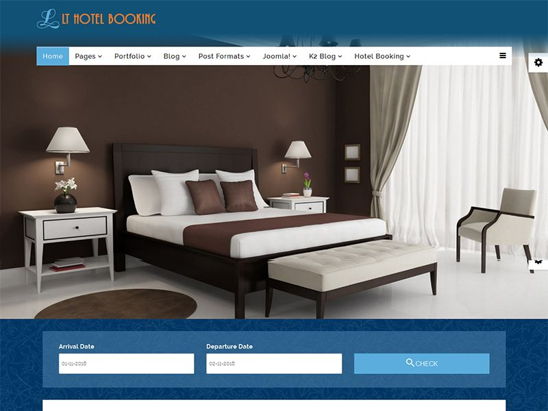 LT Hotel Booking is responsive Hotel Booking Joomla Template. This ...