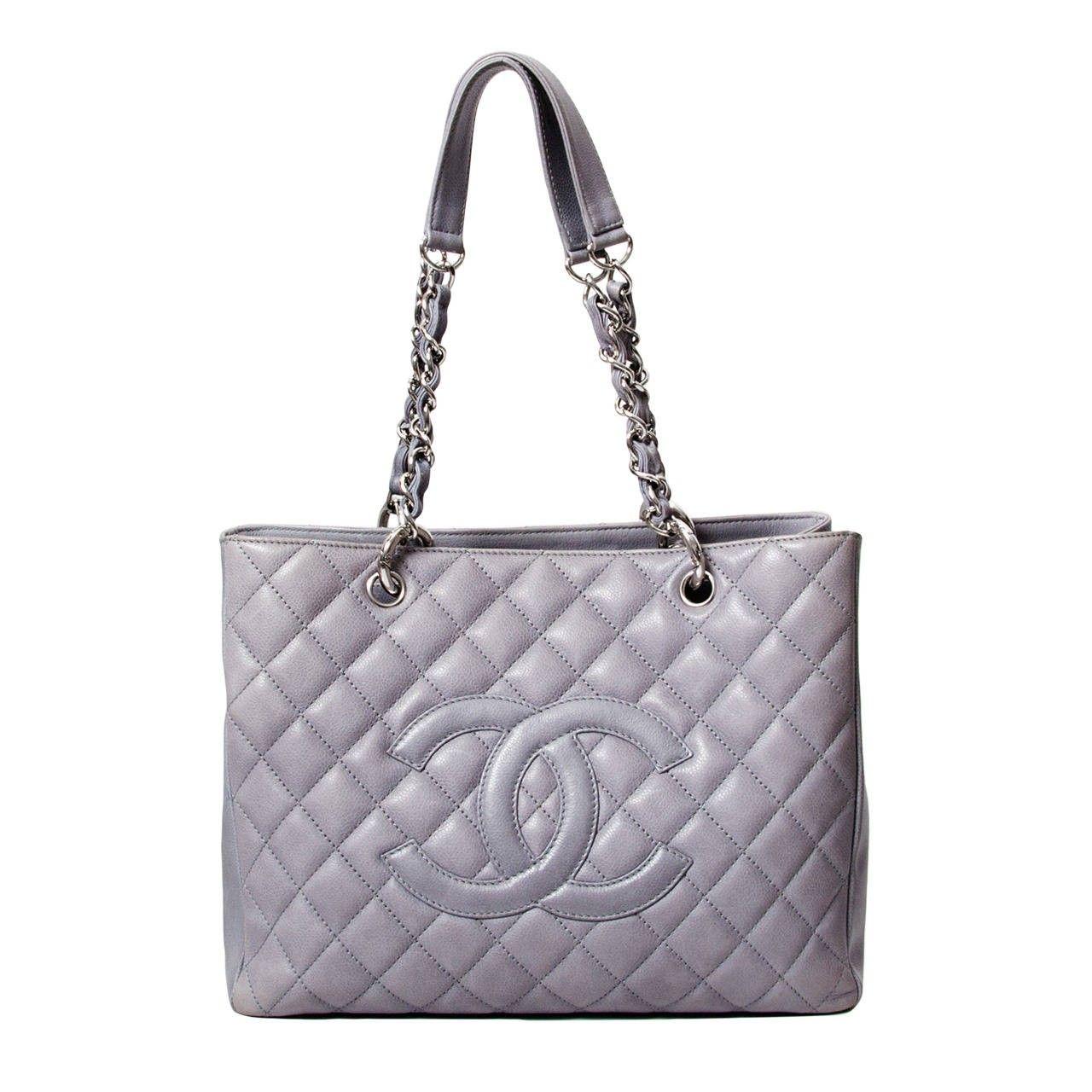 Chanel Grand Shopping Tote Second Hand Www Labellov Com