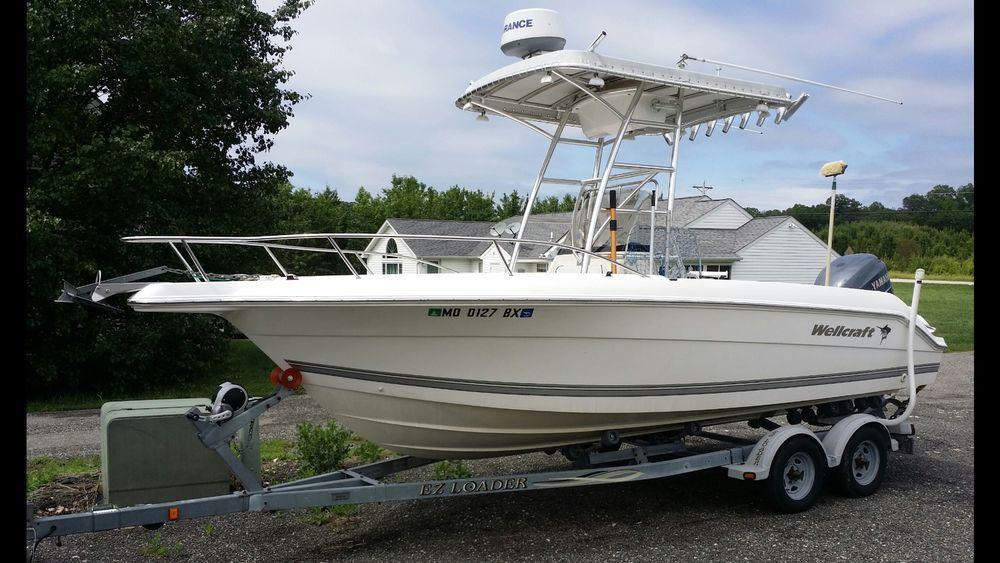 Ebay Boats Florida >> Wellcraft 210 Fisherman 22 Center Console Fishing Machine Yamaha