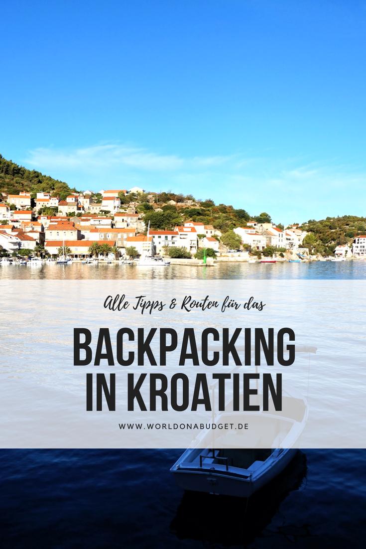 backpacking in kroatien route unterk nfte essen kosten kroatien unterkunft kroatien und. Black Bedroom Furniture Sets. Home Design Ideas