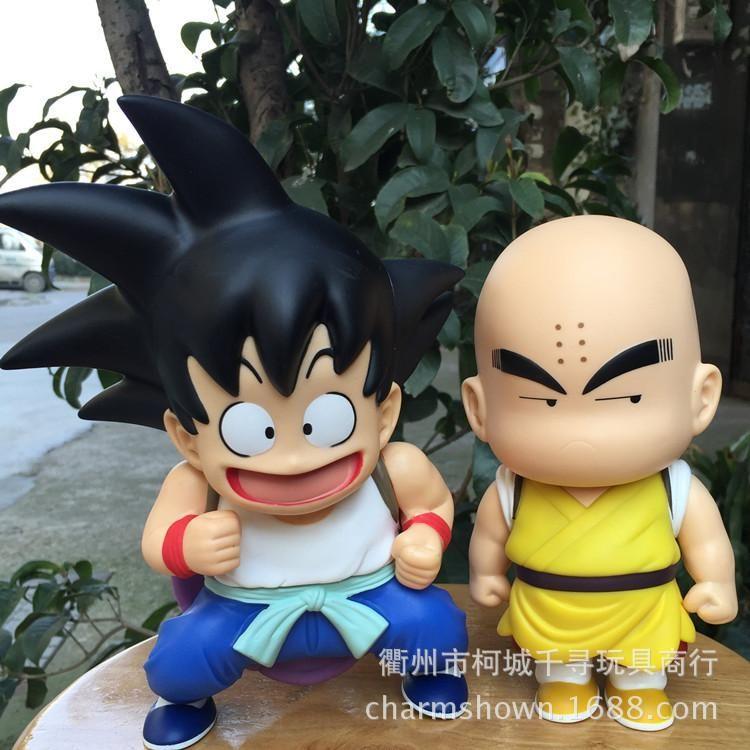 Dragon ball kid goku kid krillin action figure pvc