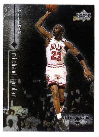 Michael Jordan 1999 Upper Deck Black Diamond NBA Card Chicago Bulls FREE  SHIPPING! 0b2262608a2d