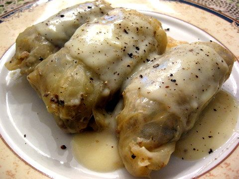Kalofagas - Greek Food & Beyond by Peter Minakis: Cabbage Rolls (λαχανοντολμαδάκια)